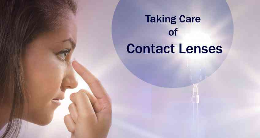 How to Take Care of Soft Contact Lenses