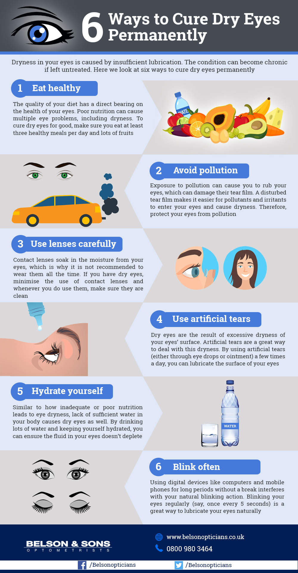 ways to cure dry eyes