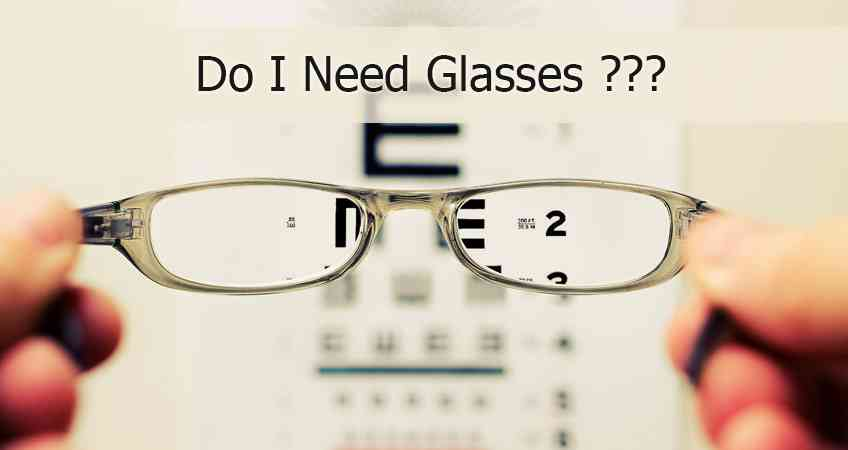 Do I Need Glasses? Test Your Vision