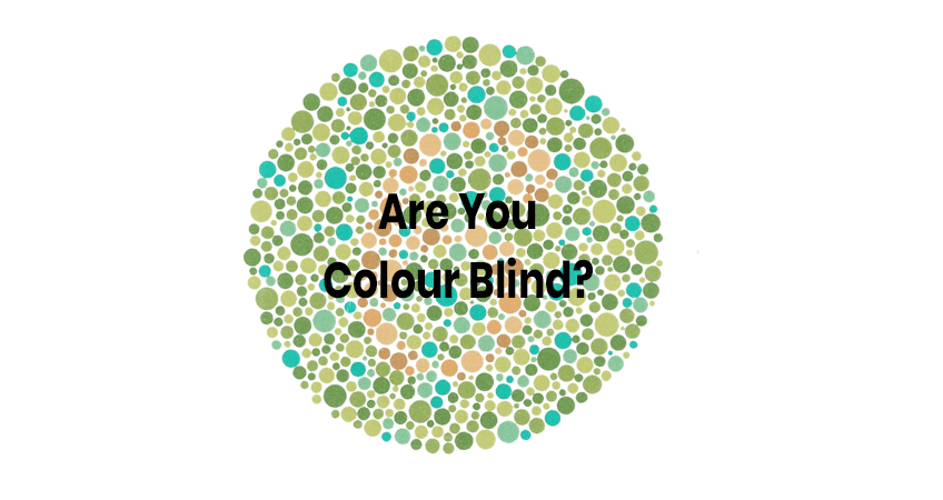 are you colour blind