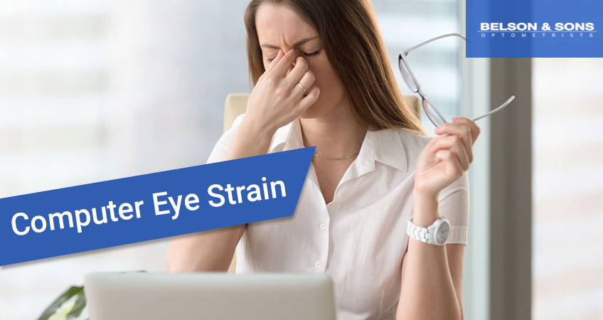 Computer Eye Strain – Causes, Symptoms and Treatment