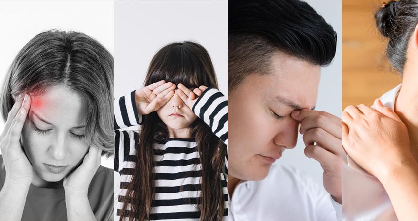 eye strain symptoms