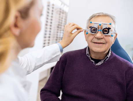 comprehensive eye examination essex