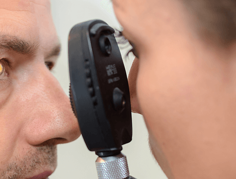 internal eye examination